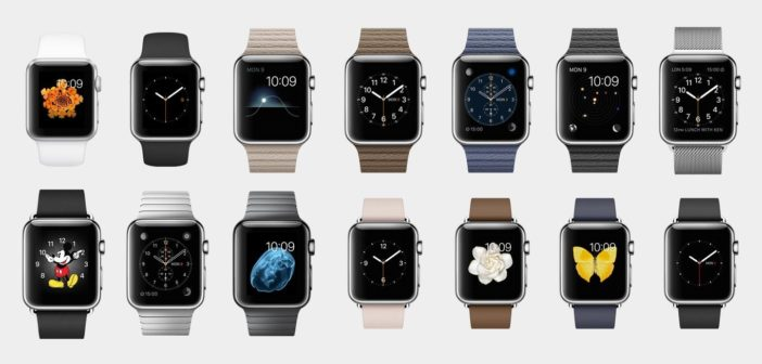 Gamme complète apple watch